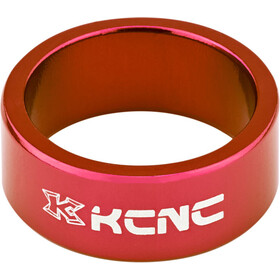 "KCNC Headset Spacer 1 1/8"" 14mm, red"